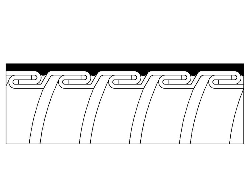 Flexible Metal Conduit Water Proof - PES23PVC Series