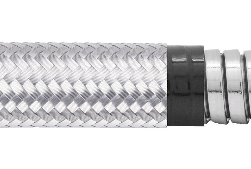 Flexible Metal Conduit Water + EMI Proof - PAS23PVCSB Series