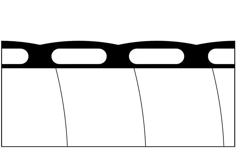 Liquid Tight Non-Metallic Flexible Conduit - PLFNCB Series