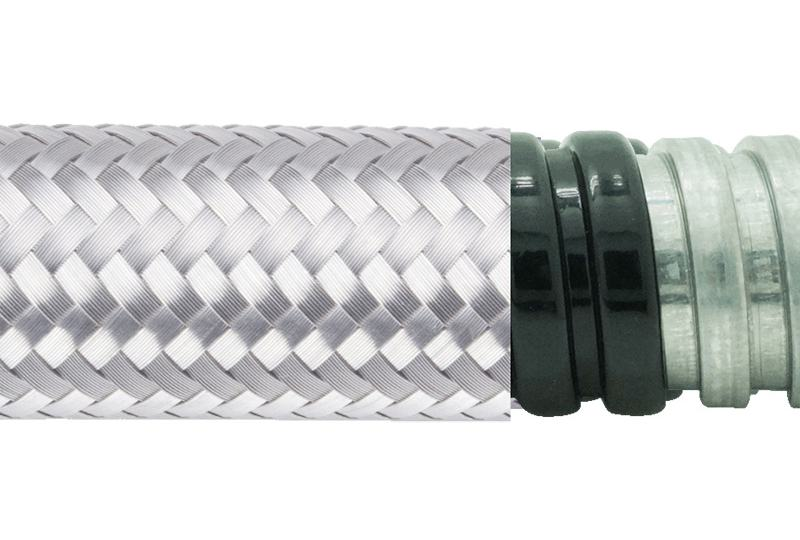 Flexible Metal Conduit Water + EMI Proof - PAG13PVCSB Series