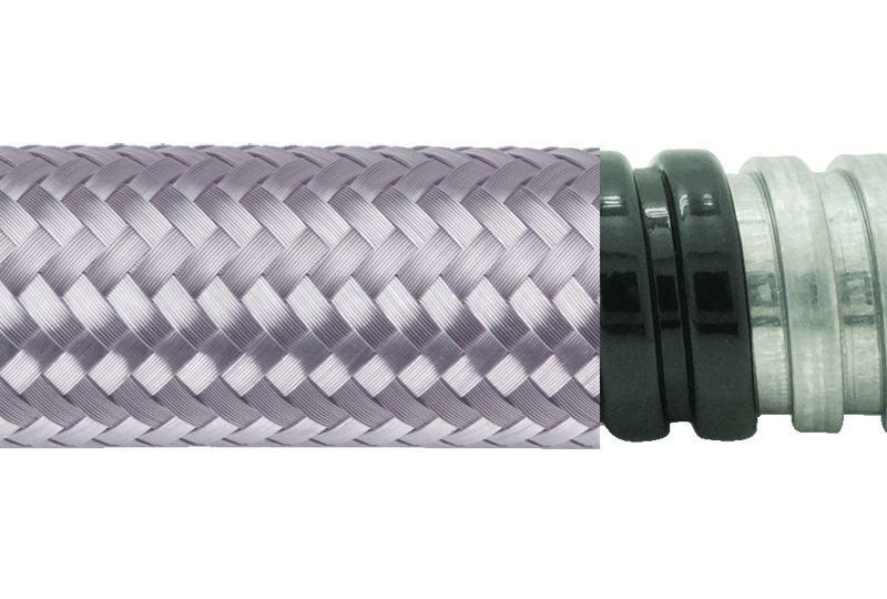 Flexible Metal Conduit Water + EMI Proof - PAG13PVCTB Series
