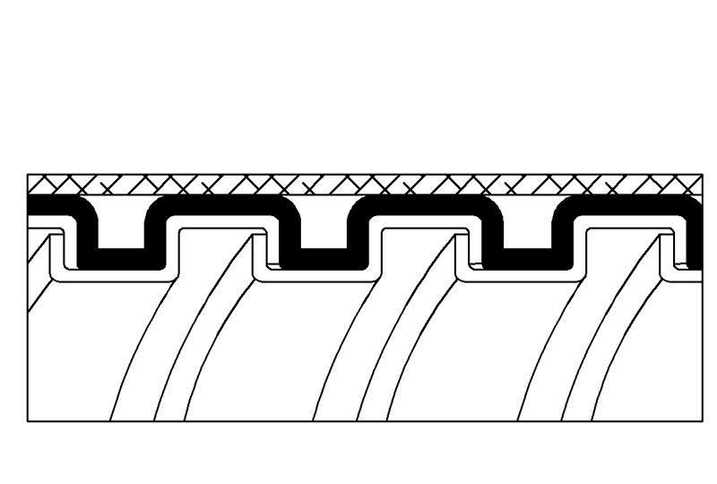 Flexible Metal Conduit Water + EMI Proof - PAS13PVCSB Series