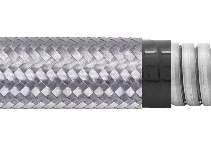 Flexible Metal Conduit Water + EMI Proof - PAG23PVCGB Series