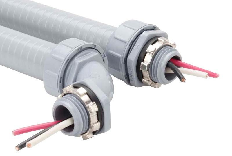 Liquid Tight Non-Metallic Flexible Conduit Fitting - P53 Series(UL514B)