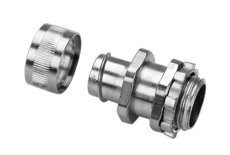 Flexible Metal Conduit Fitting Low Fire Hazard - BAZ05 Series