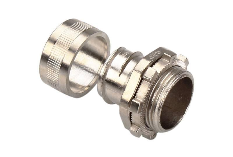 Flexible Metal Conduit Fitting Low Fire Hazard - BAZ01 Series