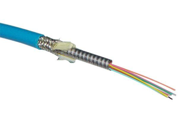 Multi-fibers Armored Optical Fiber Cable(4~12 fibers)