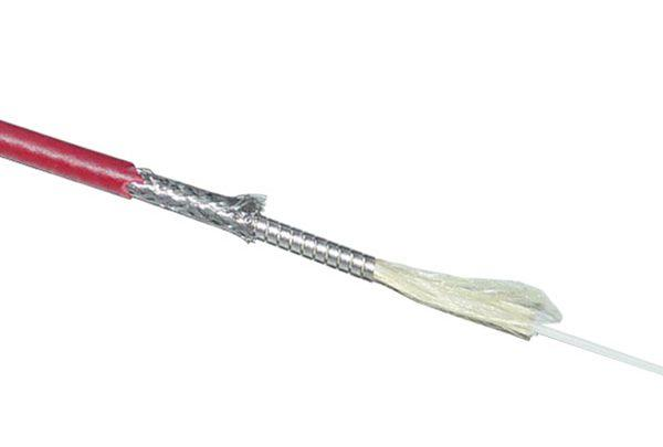 Fire Detection Armored Optical Fiber Cable