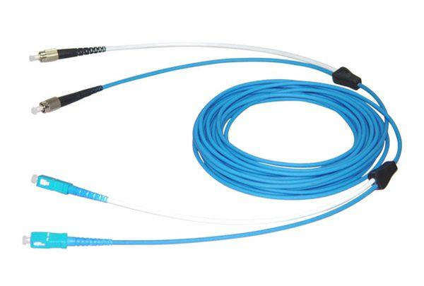 Duplex Armored Optical Fiber Pigtail/Patchcord